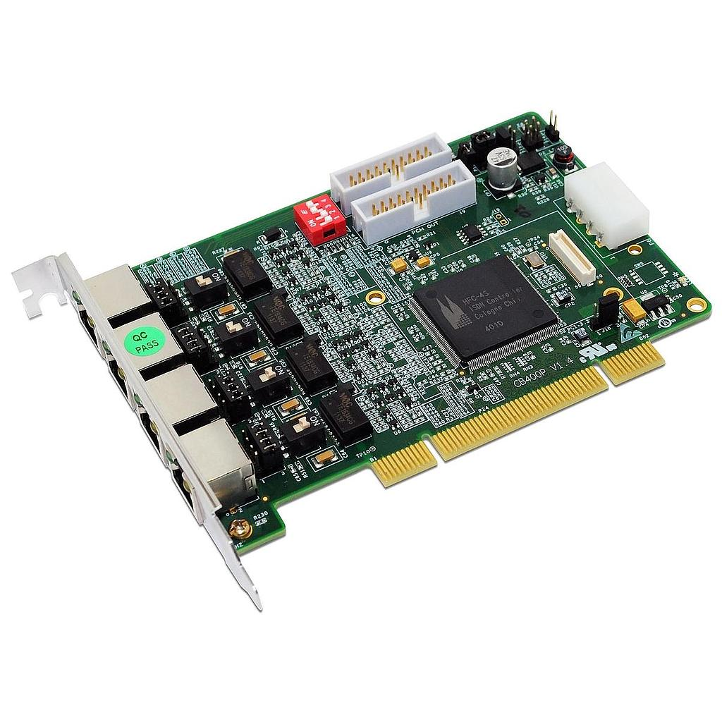 4 Port BRI PCI Card + LEC