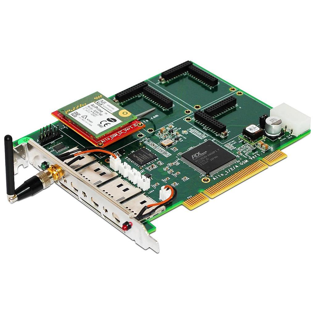 2 Modules GSM PCI Card
